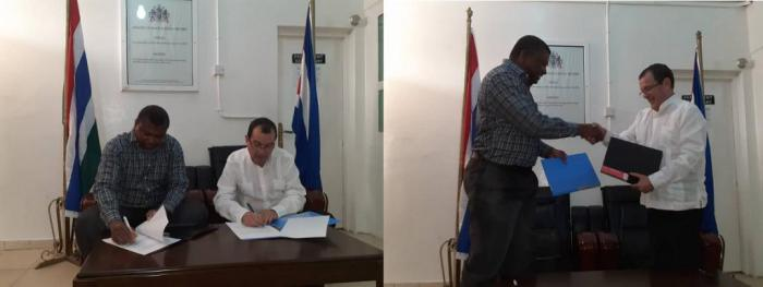 Cuba and Gambia renew health cooperation agreement