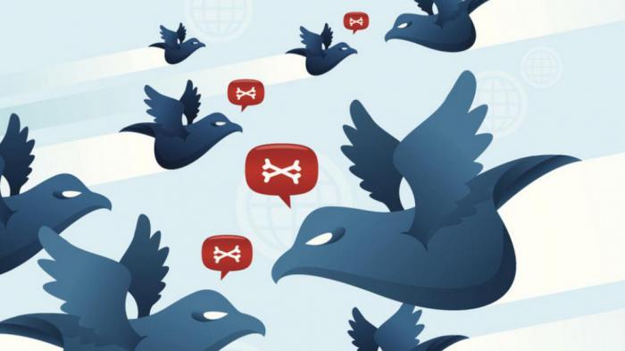 La guerra en Twitter