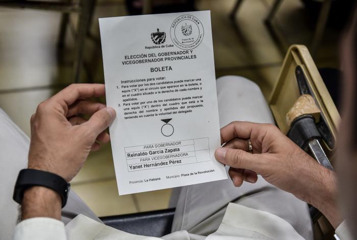 Elecciones provinciales para elegir a los candidatos a gobernador y vicegobernadora, en el MINREX