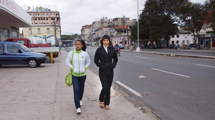 Comenzó el frente frio en La Habana.Foto:  JUVENAL BALAN NEYRA 14/12/2010Frii0087