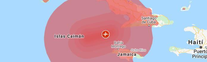 Cuba estremecida, pero sin daños, tras sismo en el mar Caribe
