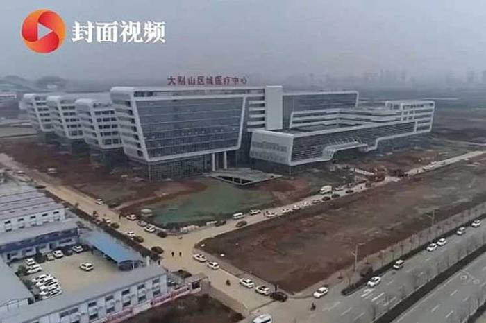 China termina hospital en tiempo récord en Wuhan