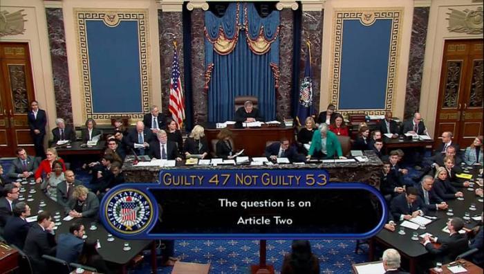 No surprises: The Senate exculpates Donald Trump in impeachment.