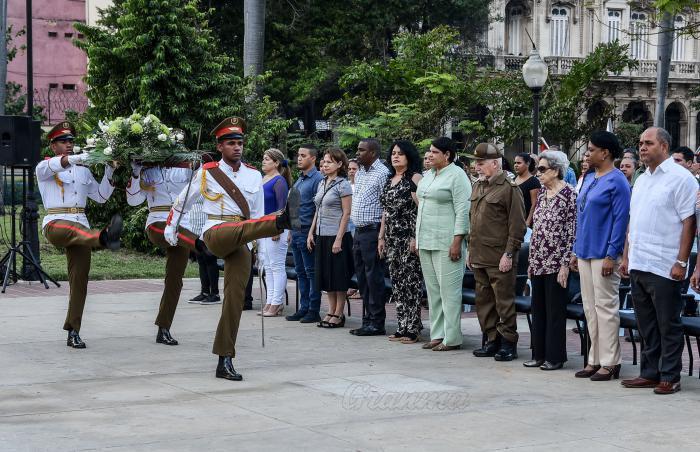 Homenaje al revolucionario cubano Faustino Pérez en su centenario