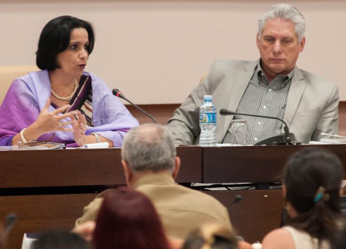 Díaz-Canel en Balance anual de la Fiscalía General de la República