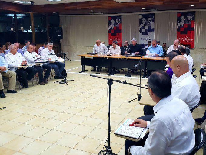 Preside Díaz-Canel balance anual de la política exterior cubana