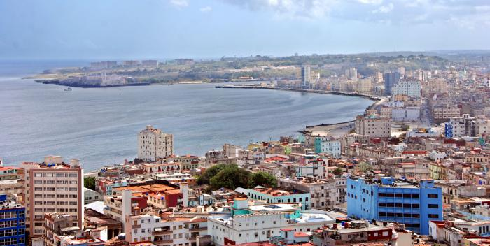 La Habana vista desde el hotel Habana Libre.