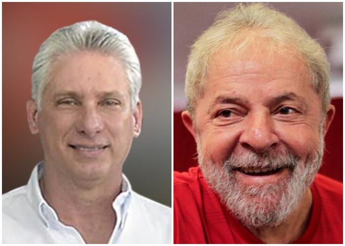 Diaz Canel y Lula