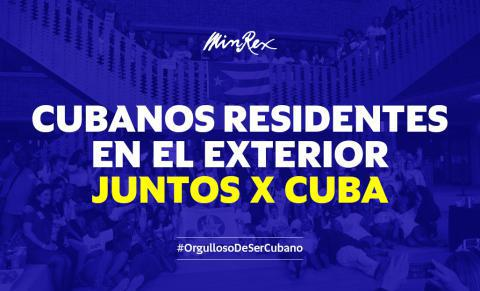 Cubanos en el exterior denuncian bloqueo de EE.UU. a su país de origen