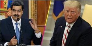 Donald Trump et Nicolás Maduro