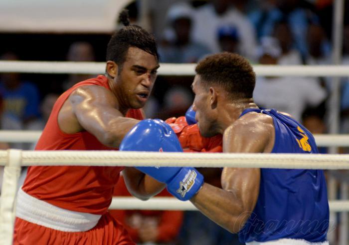 Boxeo torneo playa giron 57 Edicion Final 75 kg Arlen Lopez vs Osley Iglesias