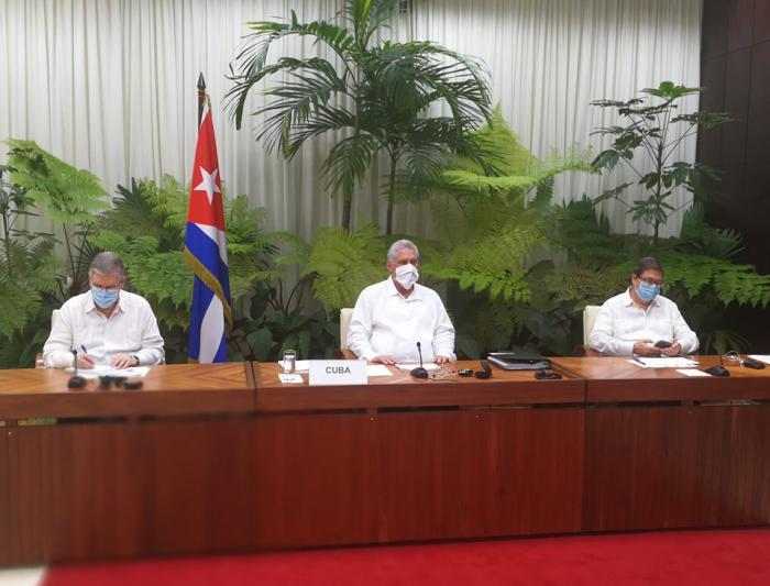 """Díaz-Canel ante el ALBA-TCP: """"Cuba se salva y aporta a la salvación de otras naciones"""""""