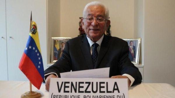 El embajador Valero recordó que EE.UU., en plena pandemia del coronavirus, se retiró de la Organización Mundial de la Salud