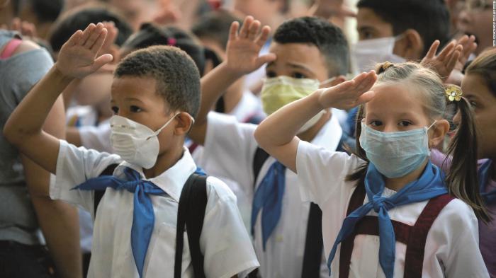 Las escuelas cubanas abrirán sus puertas  con estrictas medidas sanitarias para proteger la salud de los estudiantes