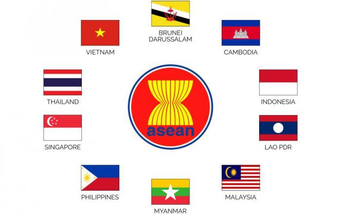 Miembros de la Asean. Foto: Tomada de la cuenta en Twitter de Alberto Blanco