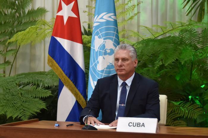 Intervención de Díaz-Canel en la Asamblea General de la ONU