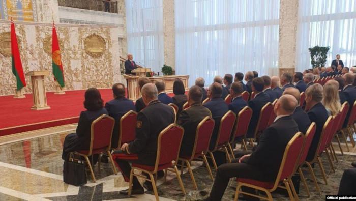Asume Lukashenko de manera oficial la presidencia de Belarús