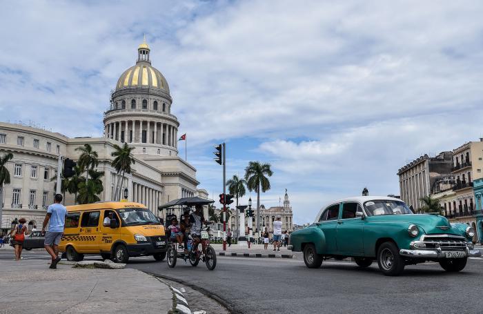 Cupula del Capitolio, en La Habana