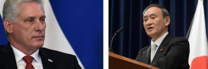 Díaz-Canel felicita al nuevo mandatario japonés