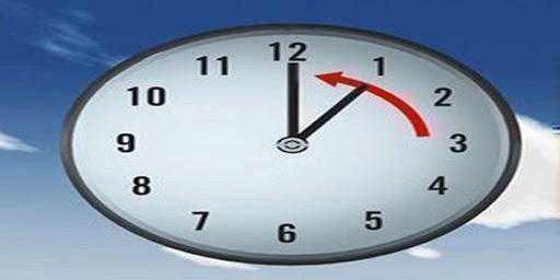 Se restablece el horario normal a partir del primero de noviembre