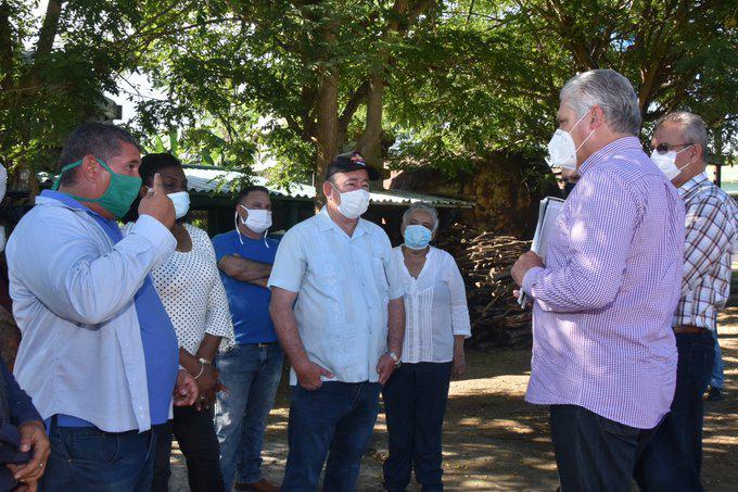 Realiza Díaz-Canel tercera visita gubernamental a Santiago de Cuba (+Posts)
