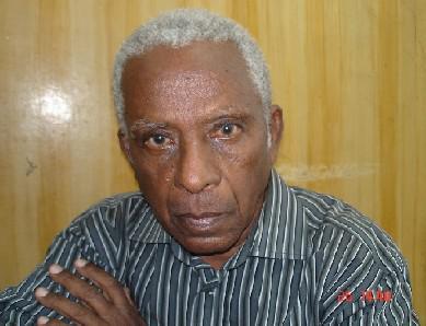 Domingo Alfonso, uno de los pilares de la generación del 50 en Cuba. foto de la autora