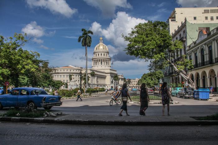 La Habana en su 500 aniversario. Capitolio Nacional.