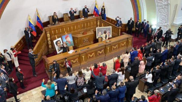 Jorge Rodríguez elegido como presidente de la Asamblea Nacional de Venezuela
