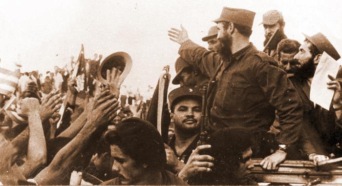 Entrada de Fidel Castro a La Habana Publicada: 30/12/2008 Fid18585