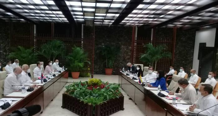 Comisión Mixta Intergubernamental busca ampliar relaciones entre Cuba y Venezuela