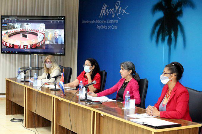 Denuncian bloqueo de Estados Unidos contra la Isla en el tercer Diálogo Cuba-Unión Europea