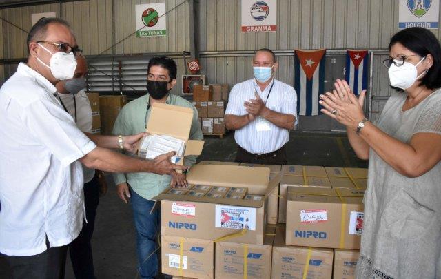 Cuba agradece ayuda solidaria para enfrentar actual escenario epidemiológico