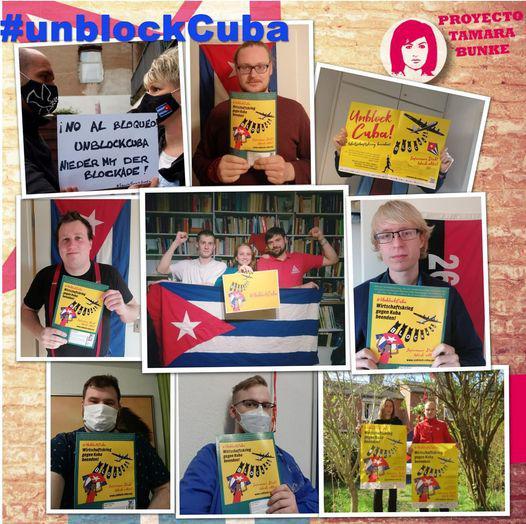 Caravanas tienden Puentes de Amor y exigen fin del bloqueo de EE.UU. contra Cuba