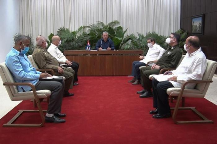 Sostienen conversación telefónica Díaz-Canel y Secretario General del Partido Comunista de Vietnam
