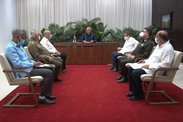 Sostuvo Díaz-Canel conversación telefónica con el Secretario General del Partido Comunista de Vietnam, Nguyen Phu Trong