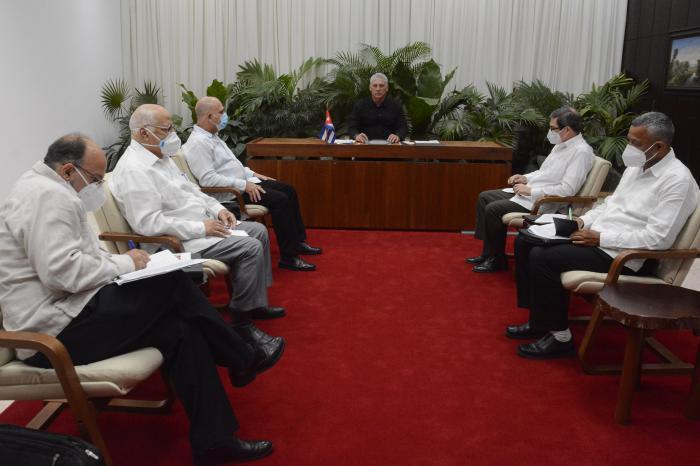 Sostienen conversación telefónica Díaz-Canel y Xi Jinping