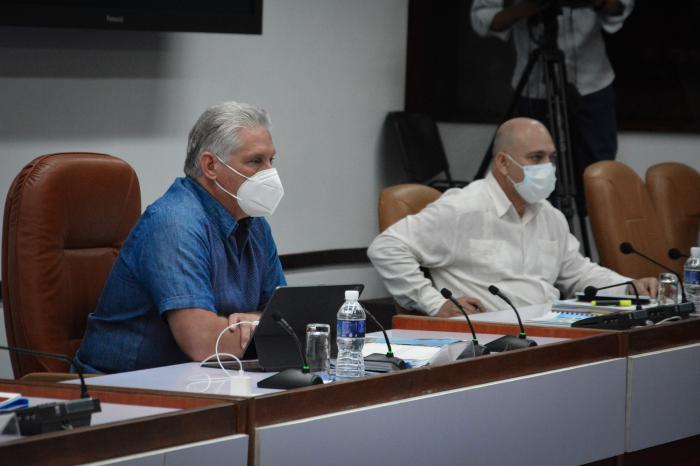 Con la asistencia de 12 miembros del Buró Político, el encuentro fue presidido, además, por Roberto Morales Ojeda, secretario de Organización y Política de Cuadros del Comité Central (CC), quien moderó el intercambio
