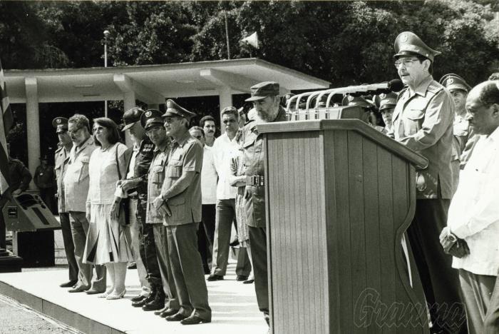 «A nuestro pueblo y a usted, Comandante en Jefe, informo: ¡la Operación Carlota ha concluido », expresó el General de Ejército Raúl Castro en 1991.