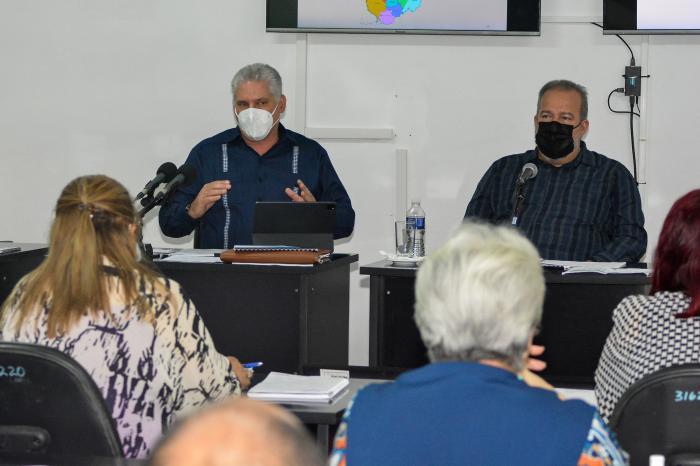Destaca Díaz-Canel en Camagüey capacidad del pueblo cubano para vencer las dificultades (+ Video)