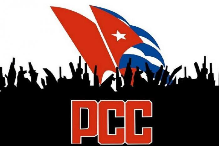 logo del PCC Partido comunista de cuba