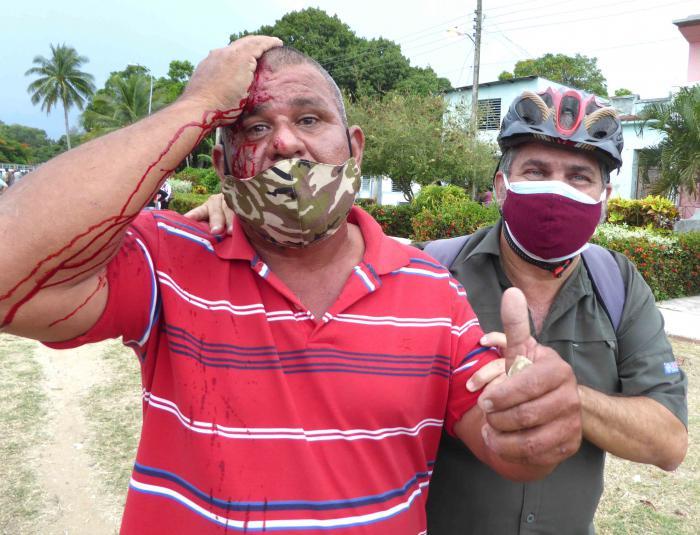 En las recientes provocaciones prevaleció la violencia de grupos contrarrevolucionarios, afirman camagüeyanos afectados