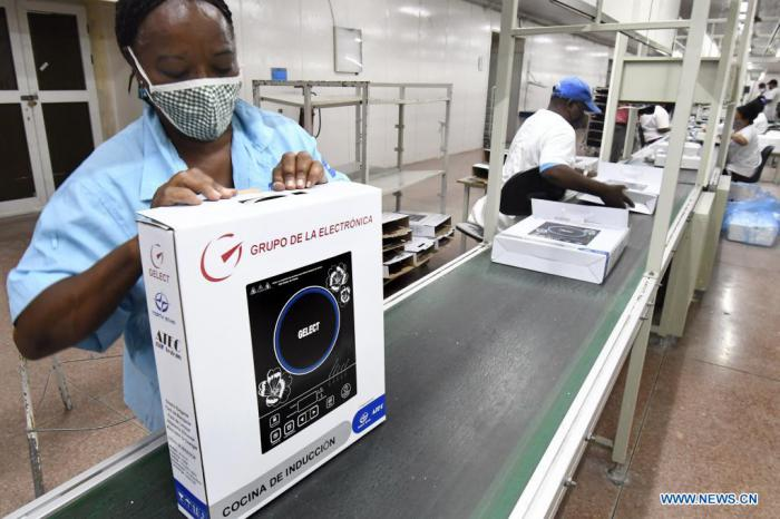 Cuba produces induction cookers with Chinese support