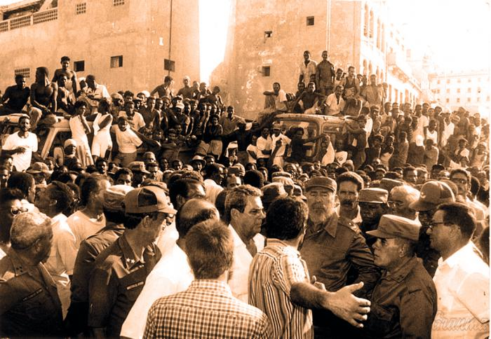 Del 5 de agosto de 1994 a hoy: Fidel Castro y la política como contragolpe