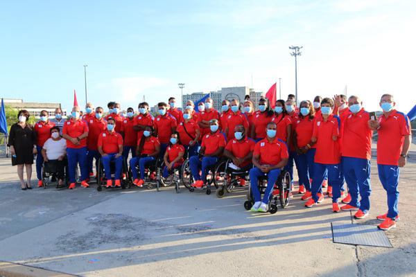 Cuban delegation to the Tokyo Paralympic Games carries successful preparation