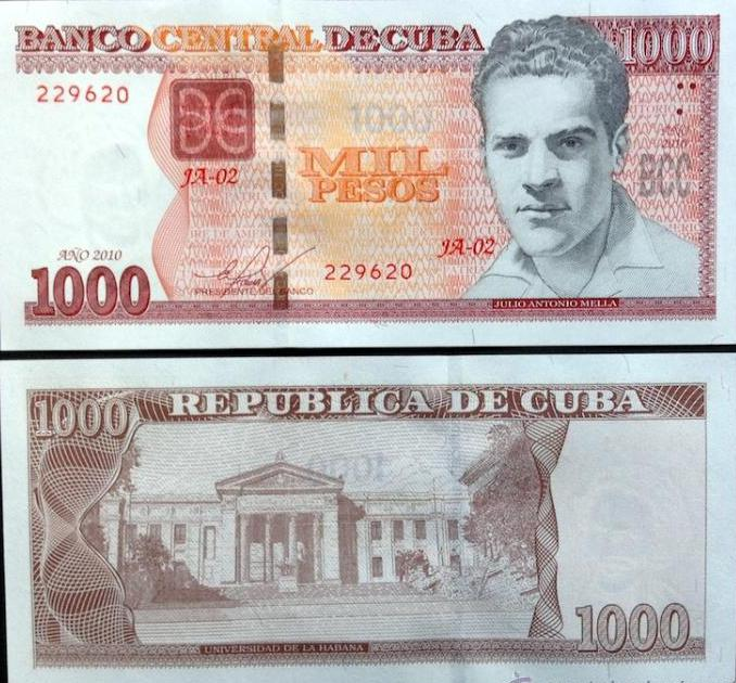 Emitirá el Banco Central de Cuba nueva serie de billetes de 200, 500 y 1 000 pesos