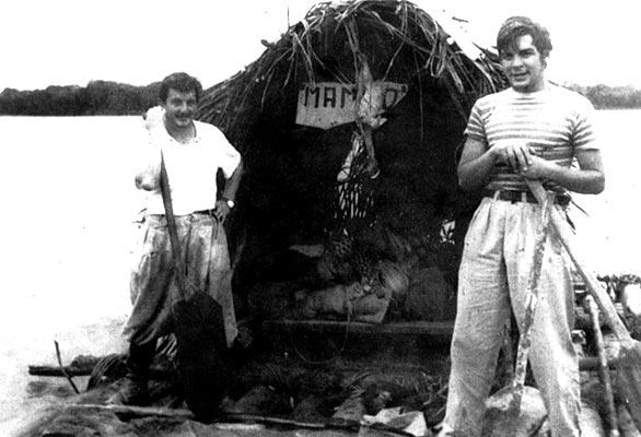 El Che llega a La Puerta de Oro de la Selva Central