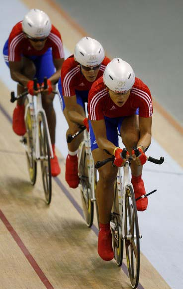 Cuba discutirá bronce en persecución por equipos del ciclismo centroamericano