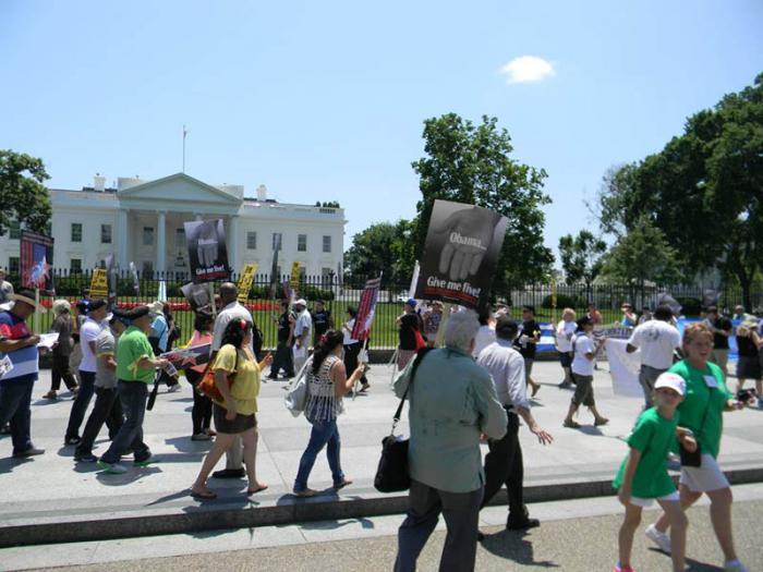 Aktionstage für die Cuban Five in Washington
