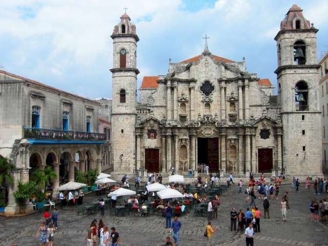 Havana's historic centre is one of the most visited places by international tourists.