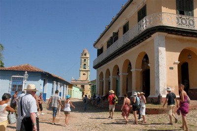 The city of Trinidad is one of the most visited places in Cuba.
